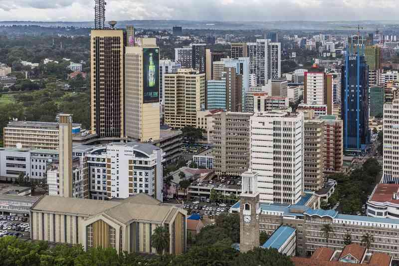 Город найроби-столца кении