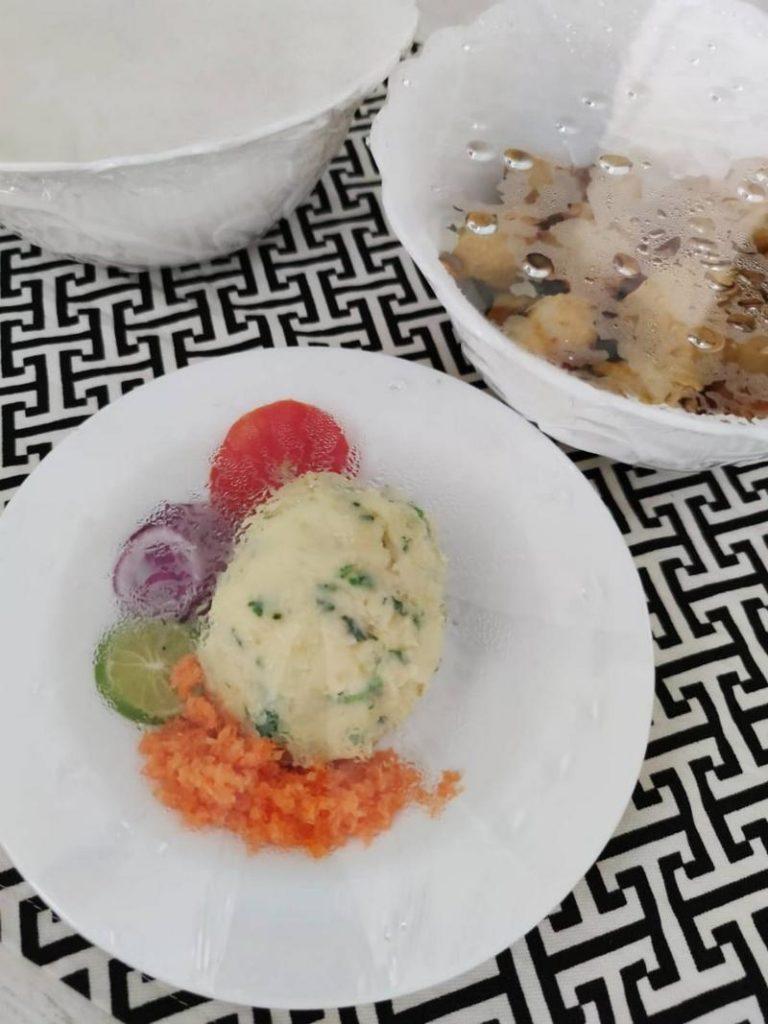 Кенийское блюдо угали